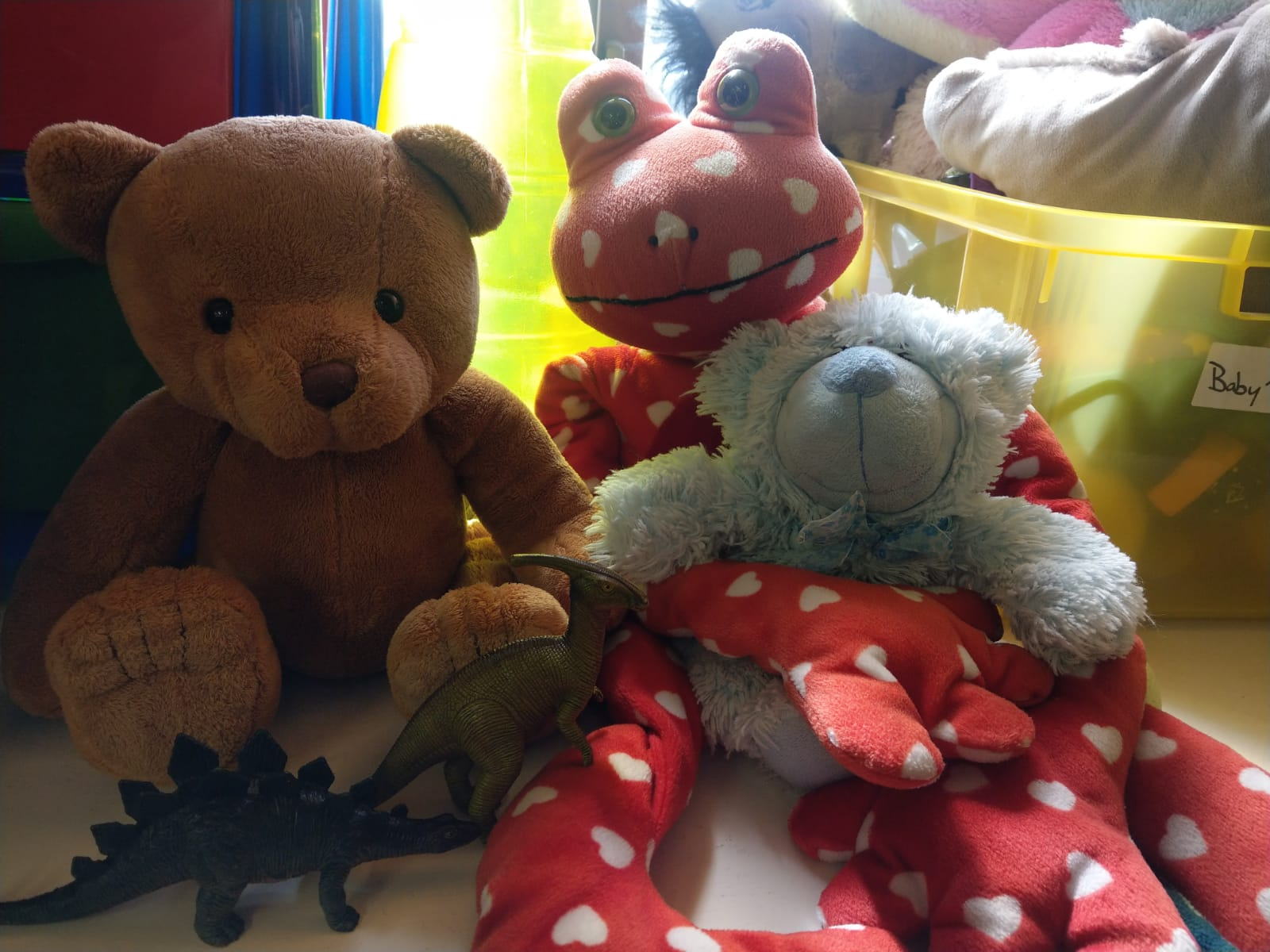 Some of our cuddly toys