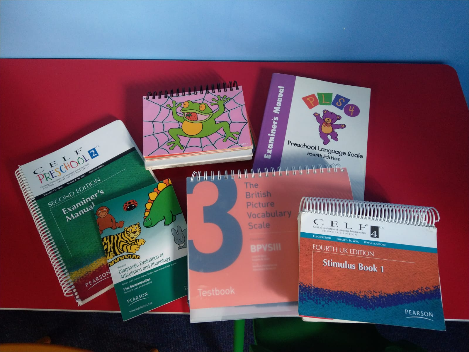 Some of our speech and language therapy assessments